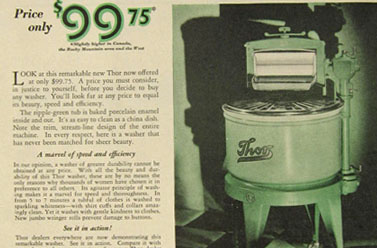 1920 Thor Washing Machine