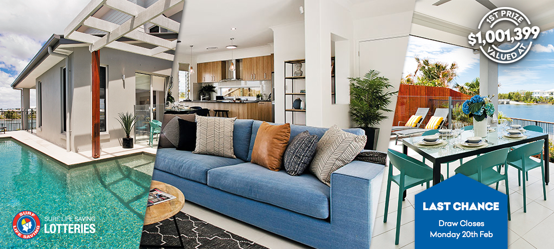 Last Chance To Win This Waterfront Prize Home