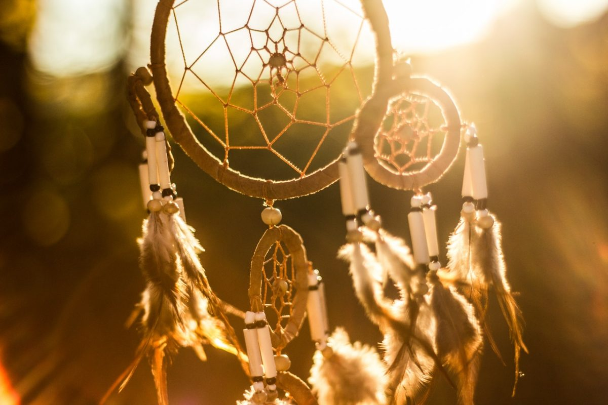 Dreamcatchers are a sign of protection