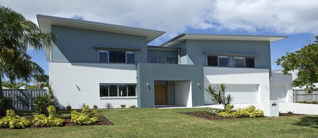 Front of Bribie Island home - draw 277