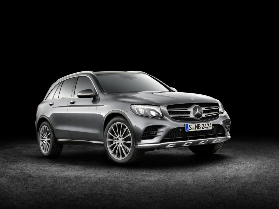 GLC250D SUV Coupe in showroom