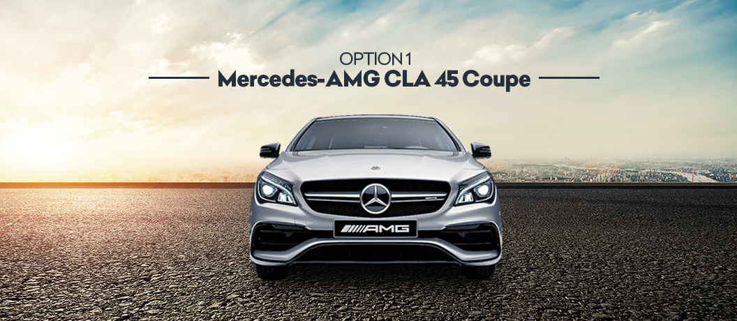 Mercedes AMG CLA 45 Coupe
