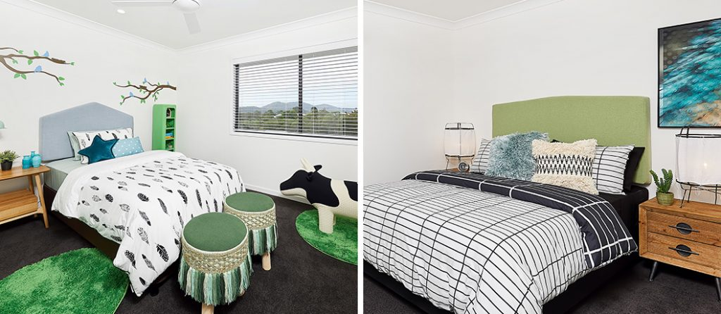 Mater Prize Home draw 282 - Beautiful bedrooms.