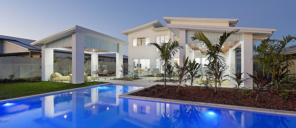 Shirley won Mater Prize Home draw 280 in Bribie Island.