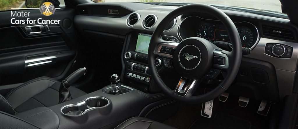 Interior of the Mustang ROUSH RS3