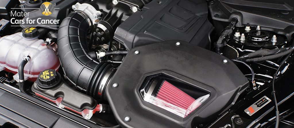 Mustang ROUSH RS3 Engine