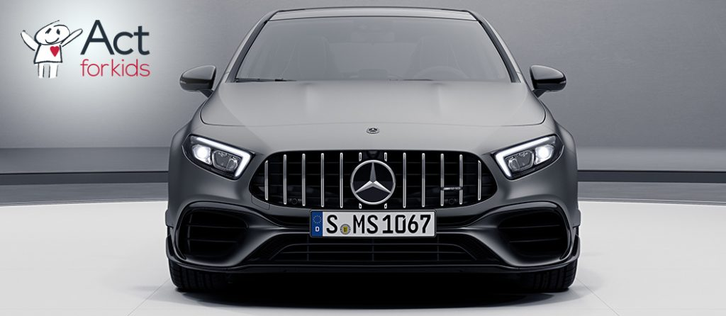 Undian Act for Kids Lottery 86 - Eksterior Mercedes-Benz