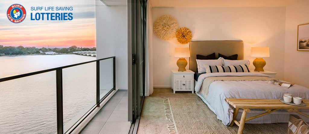 main bedroom with a view