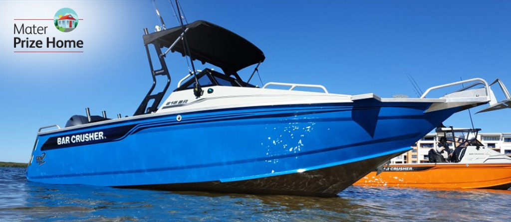 Mater Prize Home draw 289 - Bar Crusher 615BR boat